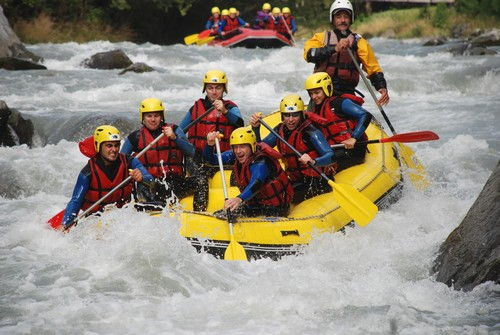 rafting annecy groupes