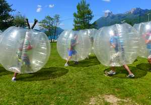 evg activités bubble foot