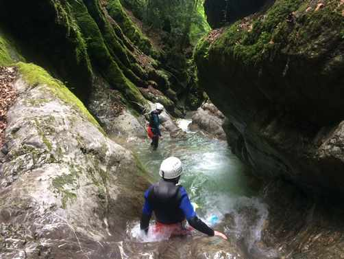 canyoning incentive annecy